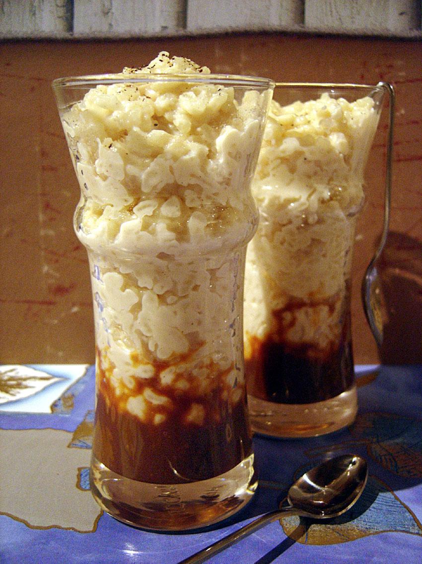 la cuisine de damien riz au lait caramel au beurre sal. Black Bedroom Furniture Sets. Home Design Ideas