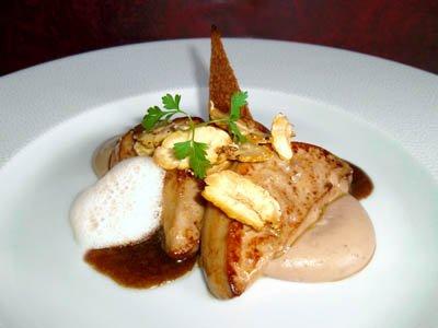 Mousse de châtaigne et foie gras poêlé dans 2 - ENTREES moussechataignefoiegras