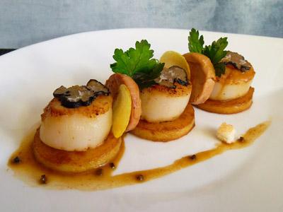 Medaillon De Noix De St Jacques Restaurant